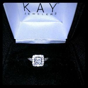 Size 7 Diamond Engagement & Bridal Set
